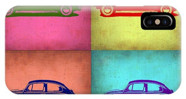 Vw iPhone Case - Vw Beetle Pop Art 1 by Naxart Studio