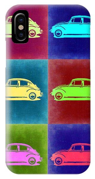 Beetle iPhone Case - Vw Beetle Pop Art 2 by Naxart Studio