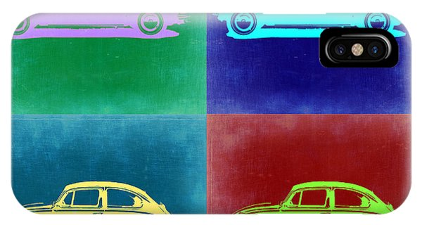 Beetle iPhone Case - Vw Beetle Pop Art 3 by Naxart Studio