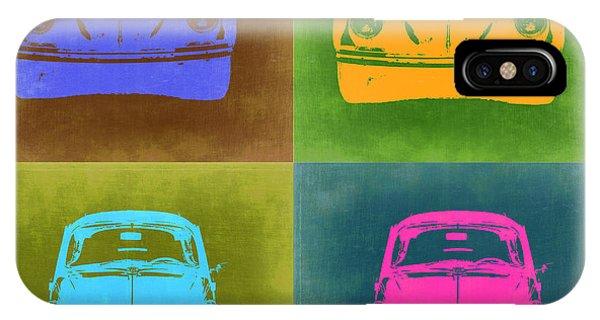 Vw iPhone Case - Vw Beetle Pop Art 6 by Naxart Studio