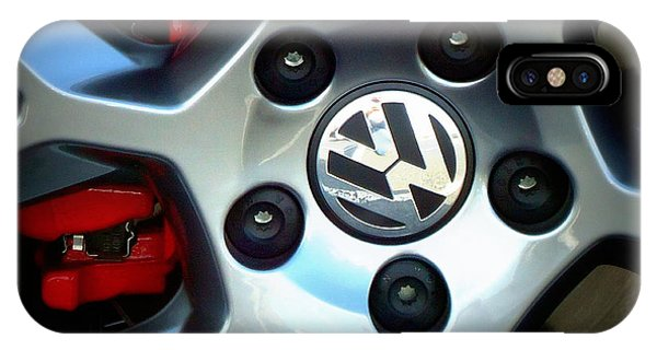 Vw Gti Wheel IPhone Case