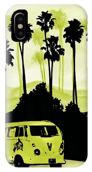 Sherri iPhone Case - Vw In California by Sherri Abell