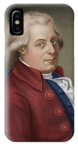 W A Mozart IPhone Case