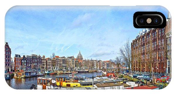 Waalseilandgracht Amsterdam IPhone Case