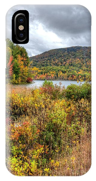 Wachusett Mt. In Autumn IPhone Case