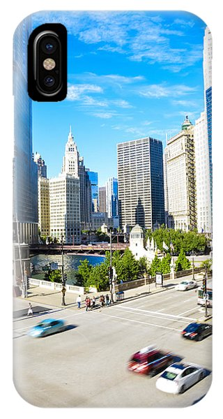 Wacker And State  IPhone Case