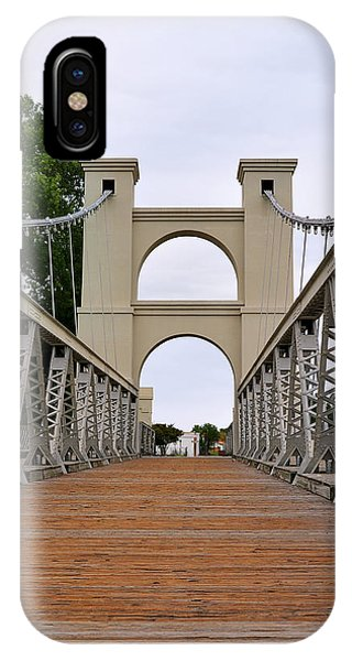 Waco Suspension Bridge IPhone Case