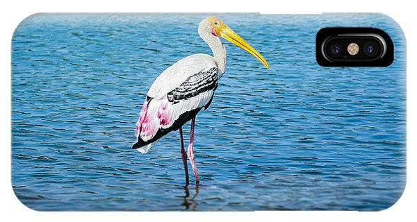 Wading Stork IPhone Case