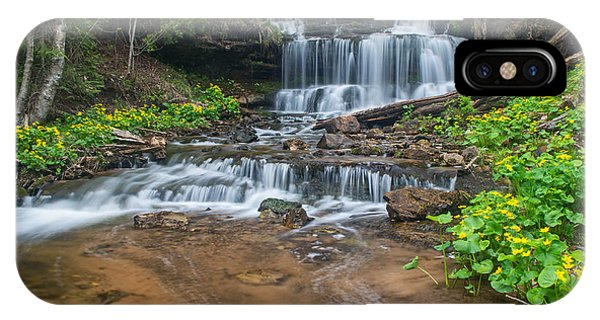 Wagner Falls  IPhone Case