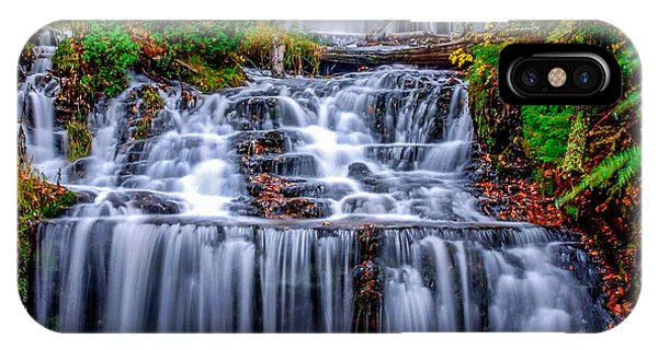 Wagner Falls II IPhone Case
