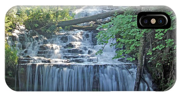 Wagner Falls  Soft Water Effect IPhone Case