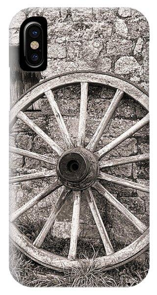 Wagon Wheel iPhone Case - Wagon Wheel by Olivier Le Queinec