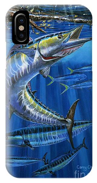 Bahamas iPhone Case - Wahoo Rip Off0047 by Carey Chen