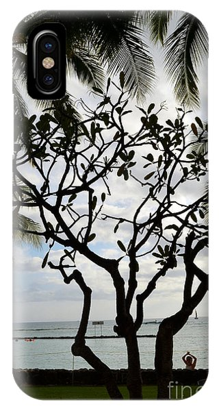 Waikiki Beach Hawaii IPhone Case
