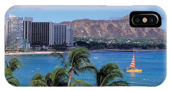 Condo iPhone Case - Waikiki Beach, Honolulu, Hawaii, Usa by Panoramic Images