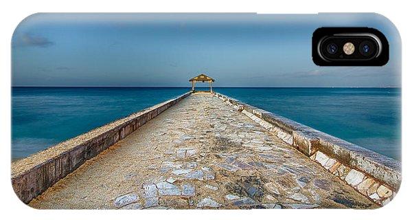 Waikiki Beach Walk IPhone Case