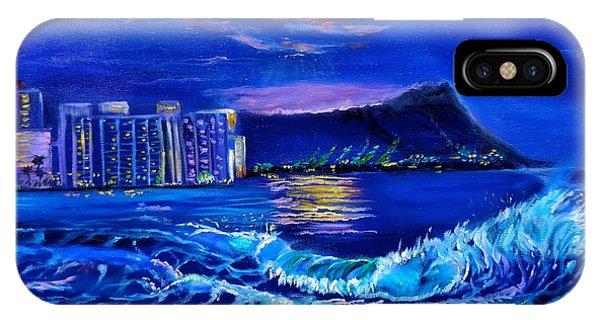 Waikiki Lights IPhone Case
