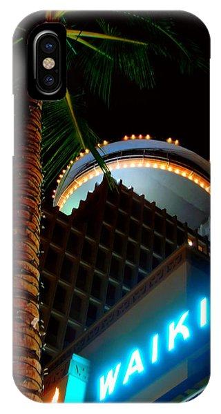 Waikiki Nightlife IPhone Case