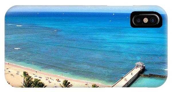 Waikiki Paradise IPhone Case