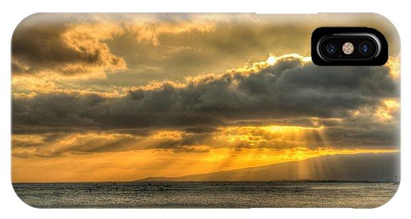 Waikiki Stand Up Paddle IPhone Case
