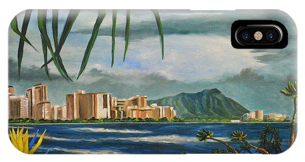 Waikiki View IPhone Case
