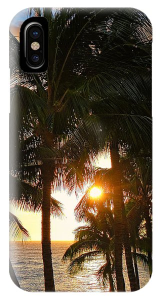 Waikoloa Palms IPhone Case