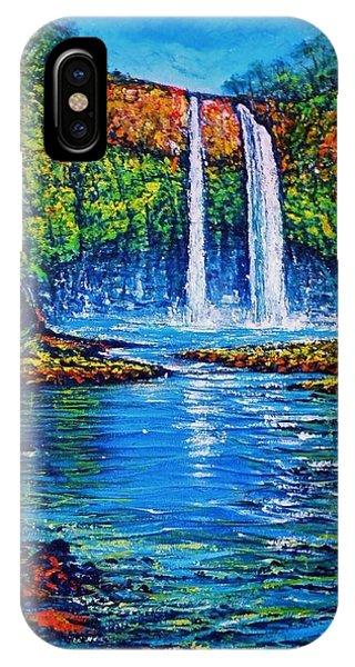 Wailua Falls Kauai Phone Case by Joseph   Ruff