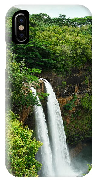 Wailua Falls Kauai IPhone Case