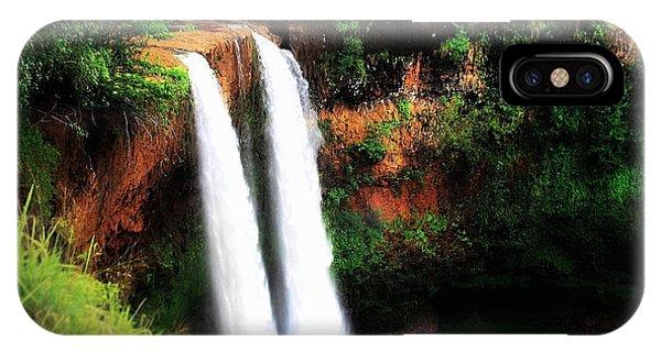 Wailua Falls IPhone Case