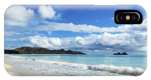 Waimanalo And Bellows Beach 1 IPhone Case