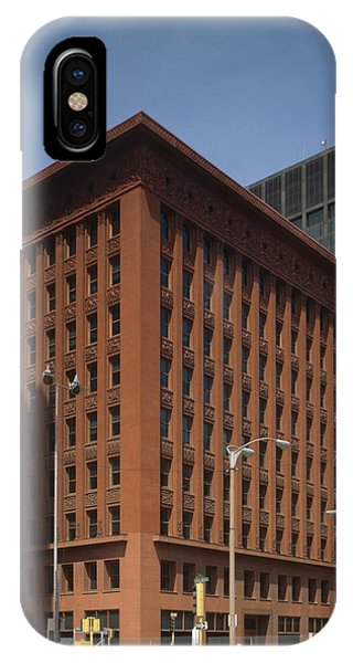 Wainwright Building Phone Case by Granger
