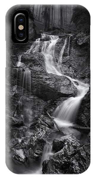 River Flow iPhone Case - Waiting For Forever by Norbert Maier