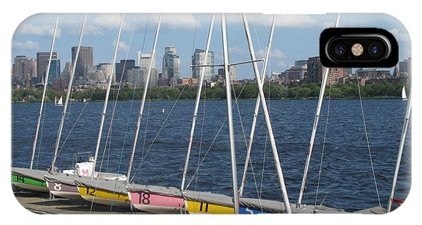 Waiting For Sailors On The Charles IPhone Case