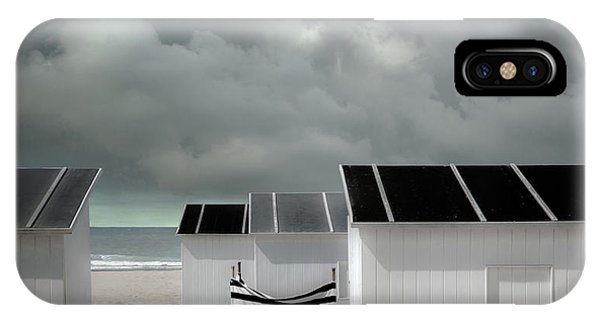 Cabin iPhone Case - Waiting For Summer by Gilbert Claes