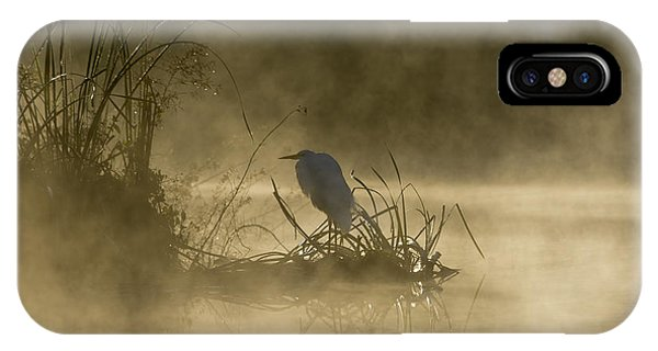 IPhone Case featuring the photograph Waiting For The Sun by Steven Sparks
