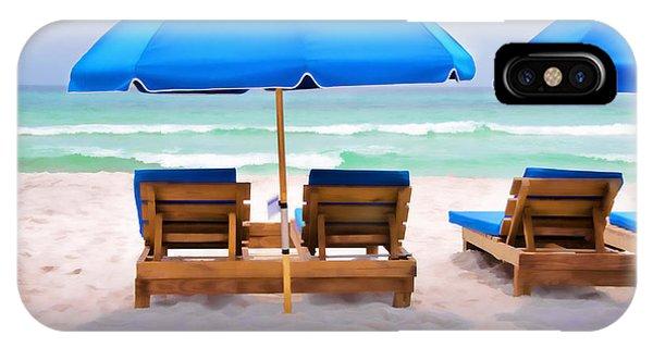 Panama City Beach Digital Painting IPhone Case