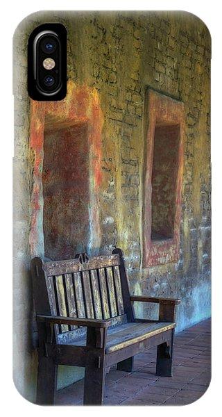 Chapel iPhone Case - Waiting by Joan Carroll