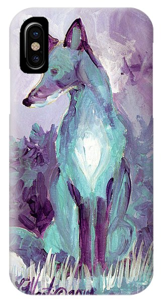 IPhone Case featuring the painting Waiting by Linda L Martin