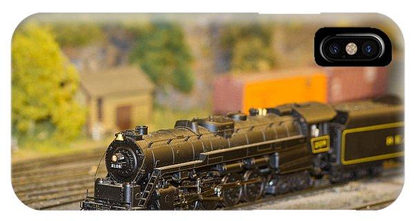 Waiting Model Train  IPhone Case