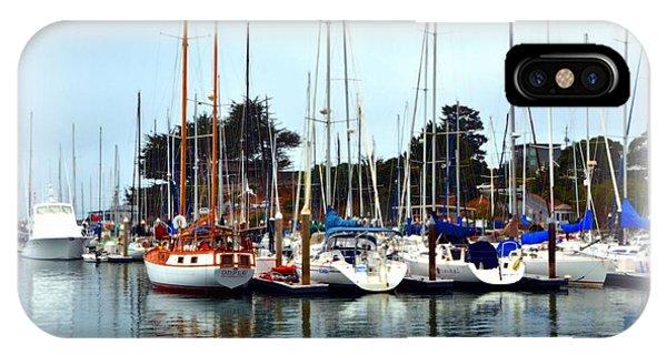 Waiting To Sail Santa Cruz IPhone Case