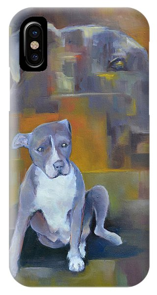 Donation iPhone Case - Waiting To Save My Human by Melissa Peterson