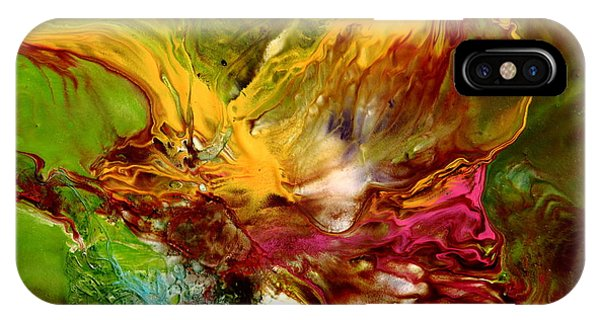 Wake Me Up Original Abstract Art IPhone Case