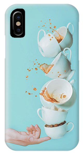 Hand iPhone Case - Waking Up by Dina Belenko