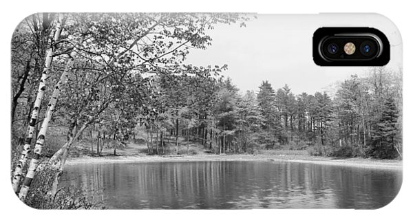 Walden Pond, C1905 IPhone Case