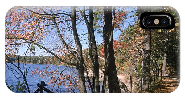 Walden Pond IPhone Case