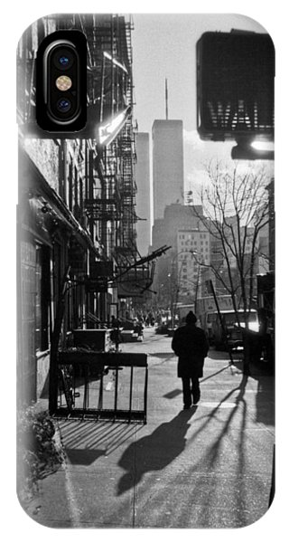 Walk Manhattan 1980s IPhone Case