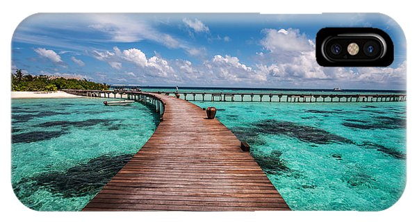 Walk Over The Water IPhone Case