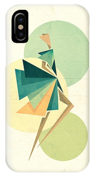 Illustration iPhone Case - Walk The Walk by VessDSign