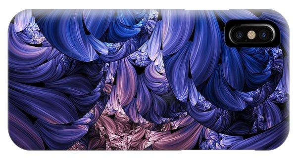 Walk Through The Petals Abstract IPhone Case