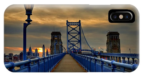 Skyline iPhone Case - Walk With Me by Evelina Kremsdorf